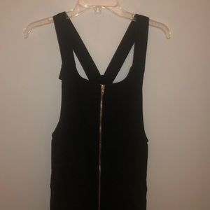 Overall dress. Worn once